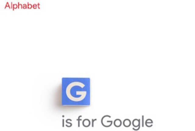 Interestingly, Alphabet's homepage is located at a rather unconventional URL - abc.xyz.