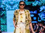 Hemangi Pate showcases a creation