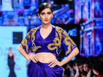 A model walks the ramp for Sonaakshi