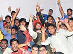Students enjoy their induction programme