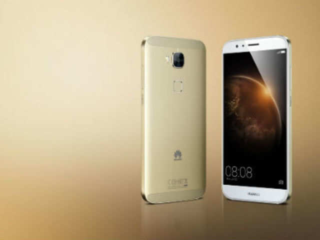 Huawei unveils metal-bodied G8 smartphone with finger-print scanner