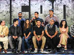 Cast and crew during the musical concert of Bollywood film Hero