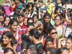 Crowd during the Clean & Clear Delhi Times Fresh Face 2015 auditions