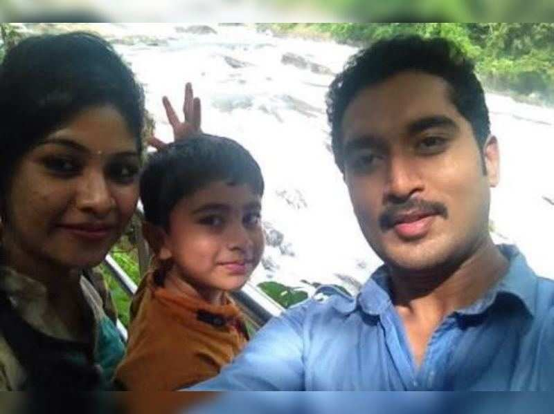 Telly star couple Nirupam Paritala and Manjula's family time in Kerala