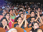 Audience enjoying during the Raasrang World Flute Festival