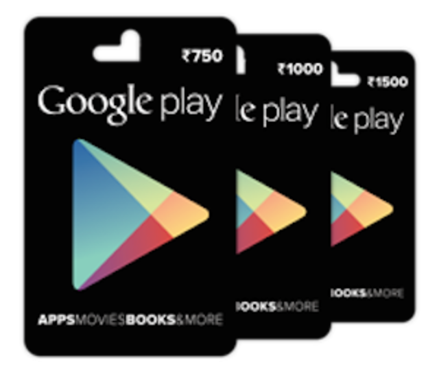 Google Play Gift Cards can be used to purchase apps and digital content, as well as in-app goods in apps and games.
