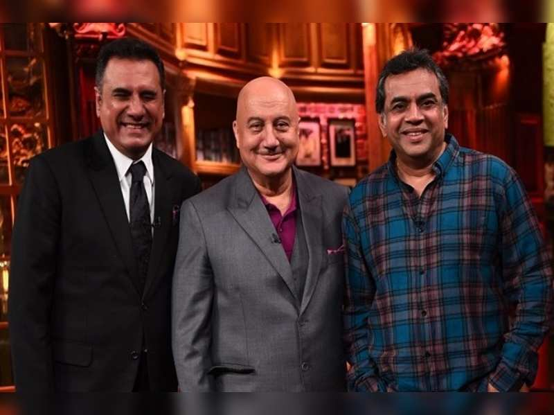 Paresh Rawal and Boman Irani's revelations on 'The Anupam Kher ...