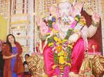Mishti Chakraborty during the Ganesh Chaturthi