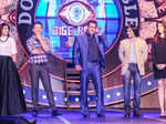 ​Salman Khan with former Bigg Boss contestants