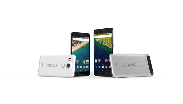 <span>Google Nexus 5X with 5.2-inch screen will cost $379, whereas Nexus 6P with 57-inch display will be available for $499; both will be up for preorder starting next week.</span>