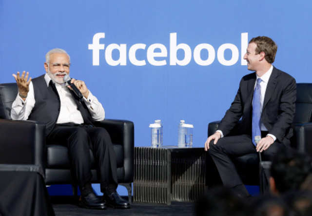 Prime Minister Narendra Modi met Facebook CEO Mark Zuckerberg in California during his visit to the US