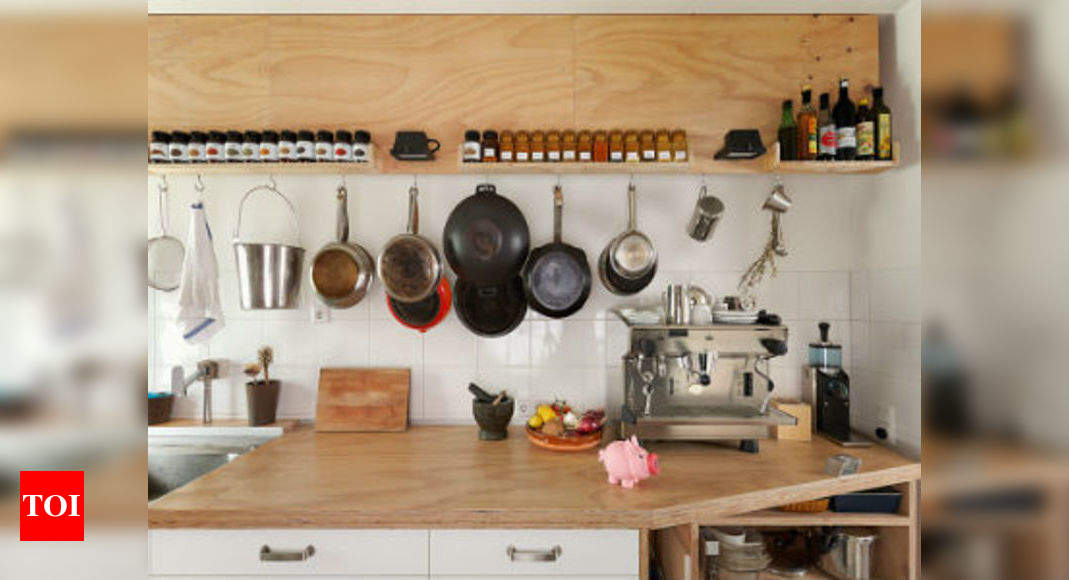 Make Your Kitchen Look Bigger Times Of India