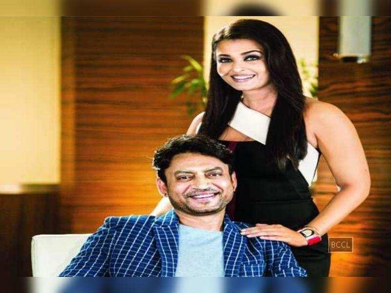 Irrfan Khan and Aishwarya Rai Bachchan
