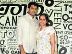Karthik and Shravya at the launch
