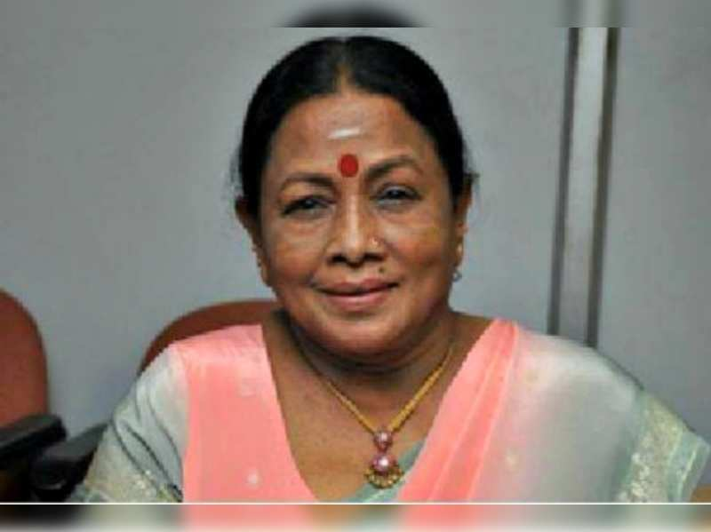 Manorama was known for her singing, too