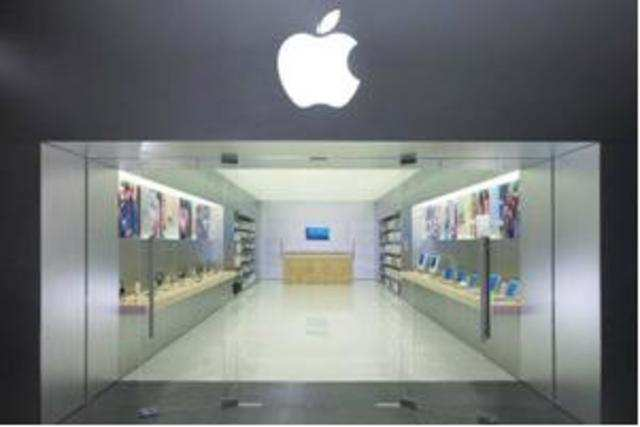 Apple Store's design, furniture, fixtures and lighting will the same as that used in Apple stores globally and the sales staff will also be trained by the company.
