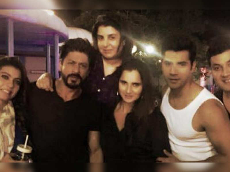 Sania Mirza with Dilwale cast
