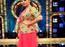 Sreemukhi trendy outfits at Super Singer 9