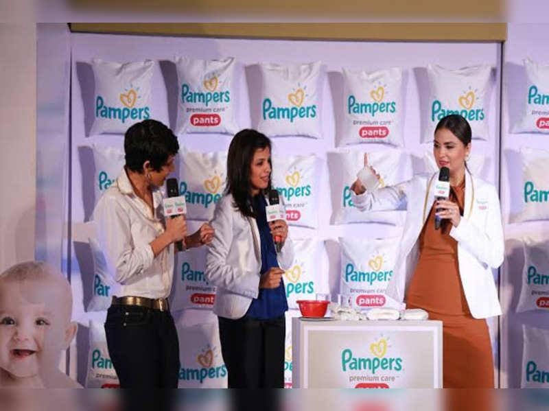 Yummy mummy Lara Dutta takes diaper test!