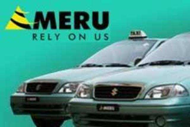 Meru Cabs has tied up with  eCab, a global mobile app by Europe's leading taxi service provider Taxis G7.