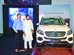 A new luxury SUV launch at Kasturba Road, Bengaluru