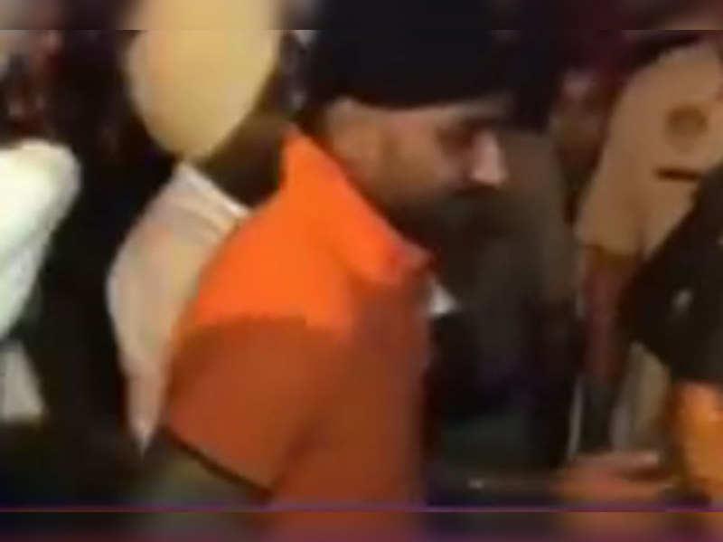 Brawl outside Harbhajan-Geeta's wedding venue; Bhajji apologises