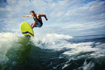 Surfing in Pondicherry