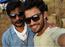 Vishwa selfie moment with Rajusundaram