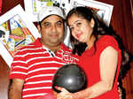 Mohit & Riddhi host party