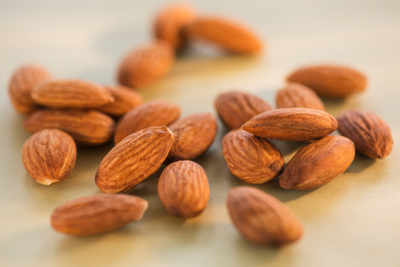Snack on almonds to control cravings