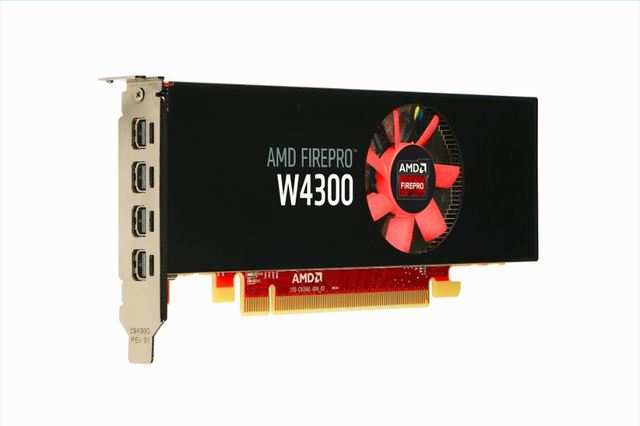 AMD's new FirePro™ W4300 is a low profile GDDR5 graphics card for CAD.