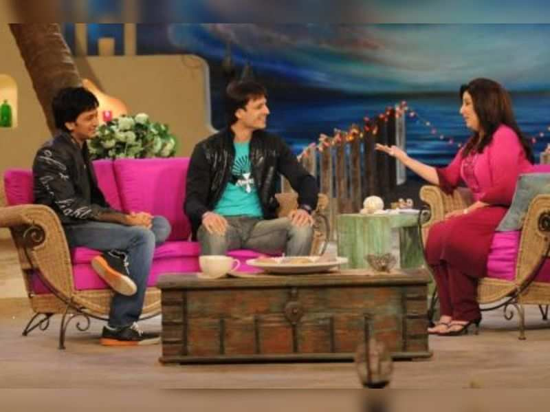 """Vivek, Farah and Ritiesh  <a href=""""http://photogallery.indiatimes.com/articleshow/4962818.cms"""" target=""""_blank"""">More Pics</a>"""