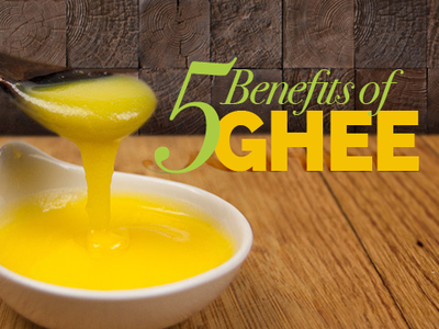 5 reasons to have ghee