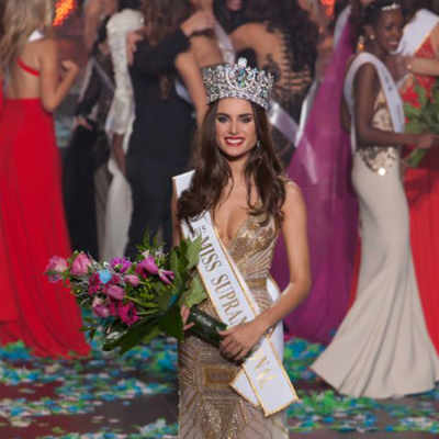 Miss Paraguay, Stephania Vasquez Stegman was crowned Miss Supranational 2015.