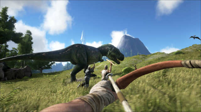 Ark: Survival Evolved is coming to Xbox One.