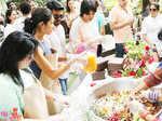 Ram Charan @ Vegan Healthy Menu launch
