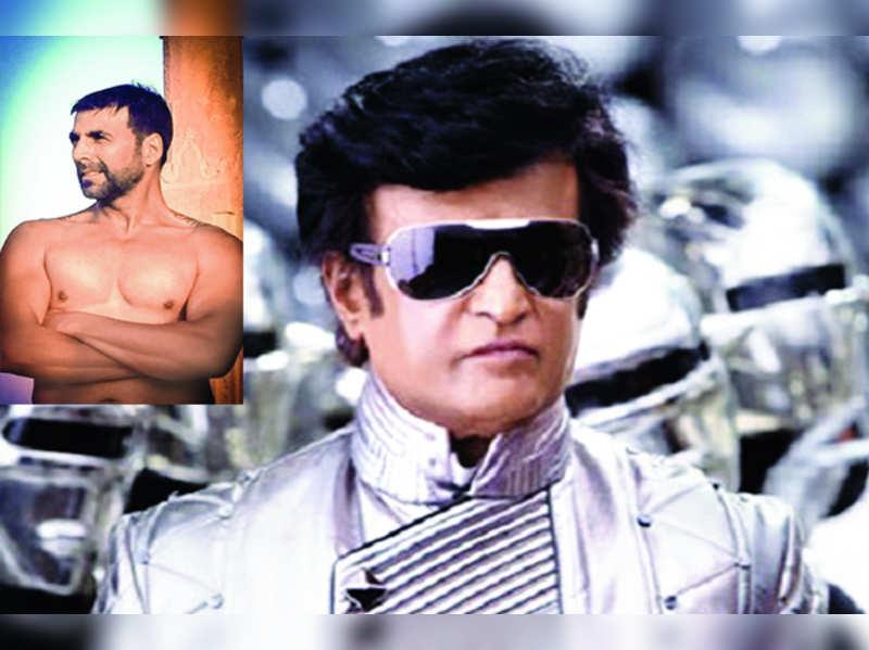 Akshay Kumar plays the villain in 'Robot 2'