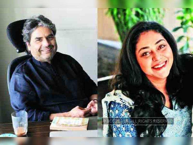 Vishal Bharadwaj gifts Meghna Gulzar a script