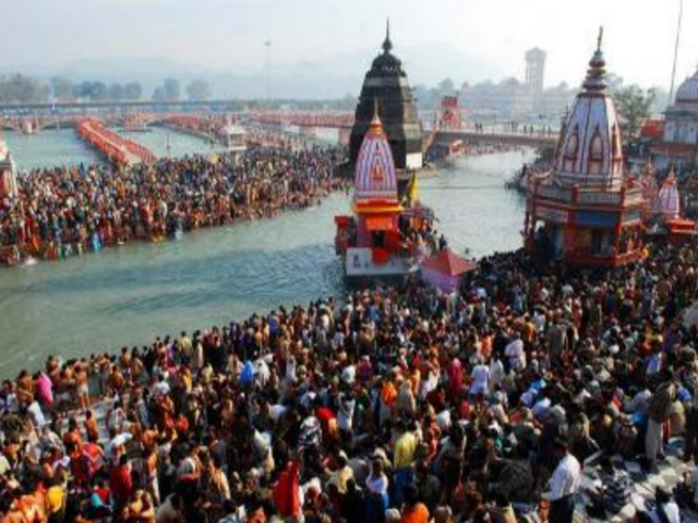 Har-ki-pauri in Haridwar (TOI photo by Anindita Chattopadhyay)