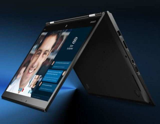 Lenovo claims, ThinkPad X1 Yoga tablet is the world's first convertible tablet featuring an optional Samsung OLED display.
