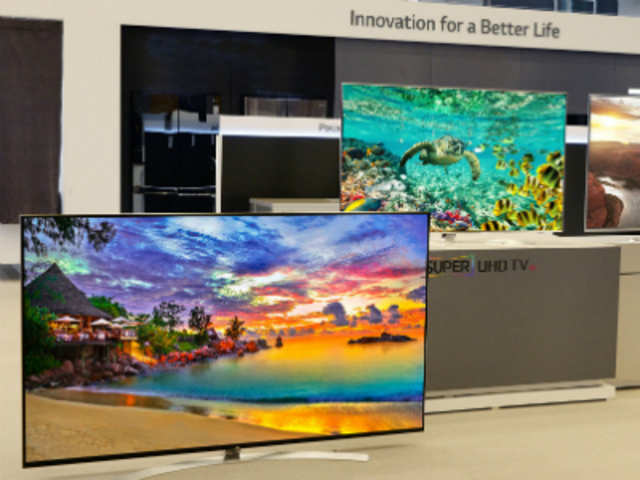 The new TVs not only offer 4K (3840x2160p) resolution but also support HDR (High Dynamic Range) content. HDR delivers better contrast and can offer more range of brightness and darkness, which makes for a better video viewing experience than the current crop of televisions.