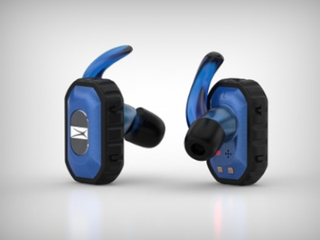 Since Altec Lansing Freedom True Wireless Bluetooth Earbuds are not connected, they can be used together for stereo sound as well as mono headsets separately.