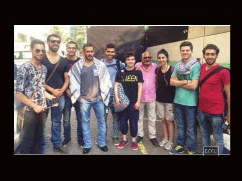 Salman Khan delights Palestinian fans