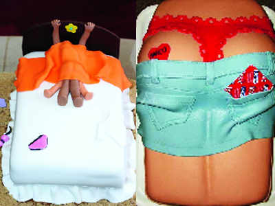 Naughty cakes spice up Pune's bachelorette parties