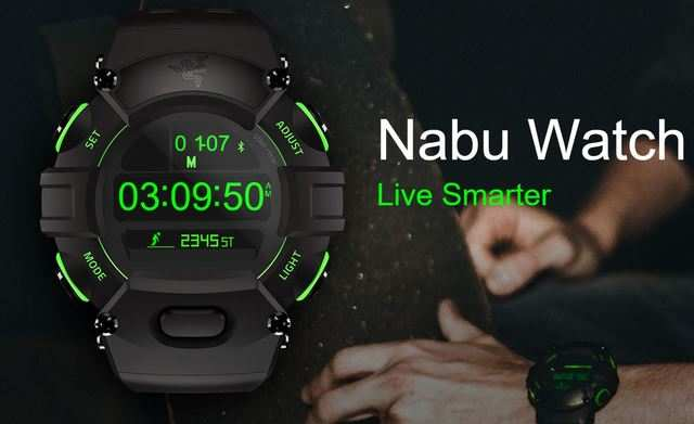 Razer launches Nabu smartwatch with two screens