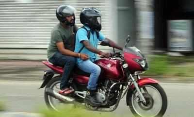 Helmet must for pillion riders in Karnataka from Jan 12 ...