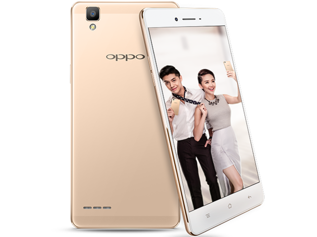 Oppo F1 features an 8MP front camera with live colour filters.