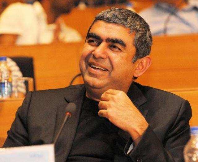 Infosys chief executive Vishal Sikka.