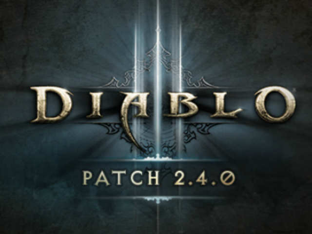 Diablo III Patch 2.4.0 is live only in North and South Americas, so gamers in Europe and Asia will have to wait a little longer to download it.