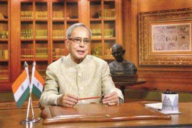 Talking about the delay in creating an environment enabling for small entrepreneurs, President Mukherjee, who was the finance minister in the previous UPA government, said he cannot pass the buck to anybody.